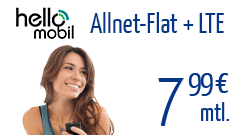 Hello Mobil Flat 7,99
